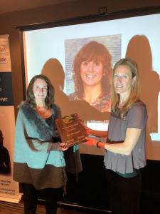 Jill Robertson and Alison Beaton - Golden Hands Award Presentation 2018