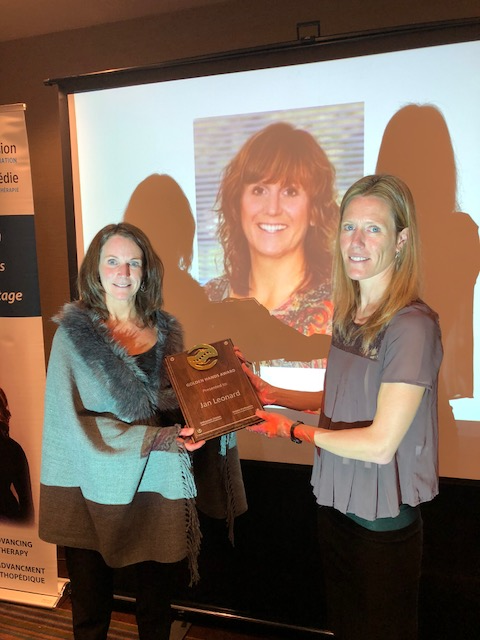 Jill Robertson and Alison Beaton - Golden Hands Award Presentation 2018